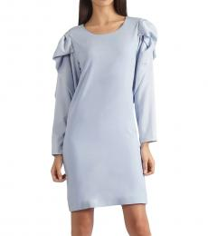 Self Stitch Bow Sleeve Dress