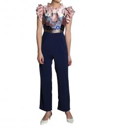 Self Stitch Floret Frill Jumpsuit