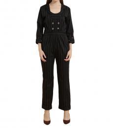 Self Stitch Pinstripe Luxe Jumpsuit