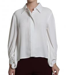 Self Stitch Wide Placket Shirt