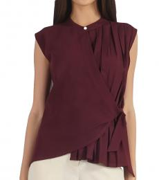 Self Stitch Box Pleat Wrap Around Top
