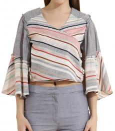 Self Stitch Two Way Wrap Top