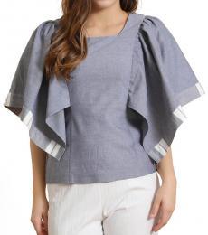 Self Stitch Handkerchief Sleeve Top