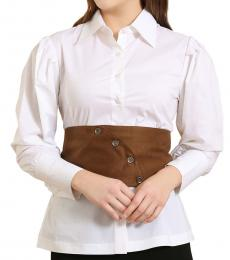 Self Stitch Three-Way Corset Belt Shirt