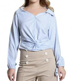 Self Stitch Stripe Twist Shirt
