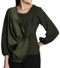 Self Stitch Draped Cowl Top