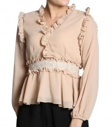 Self Stitch Frill Peplum Top
