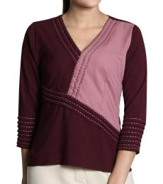 Self Stitch Grape Stitch Top