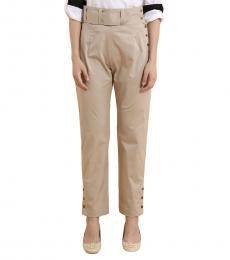 High Waist Mockup Belt Pants