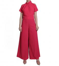 Self Stitch Rose Palazzo Pants