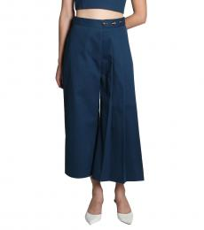 One Side Pleated Pant