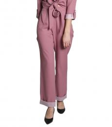 Self Stitch Light Purple Wide Leg Trousers